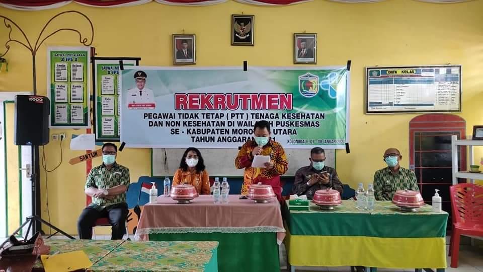 Morut Buka Lowongan Seleksi Ptt Nakes 207 Orang Posonews Id